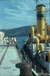 Sedge '86 - Knysna - Jetty - tug Alwyn Vintcent and kids.jpg