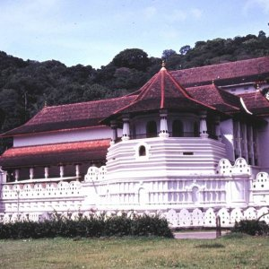 Temple of the Tooth, Kandy, Ceylon