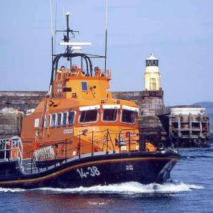 Troon lifeboat Jim Moffat
