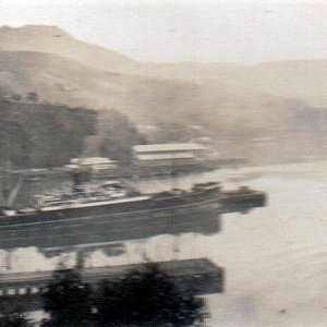 cornwall at port chalmers   1948