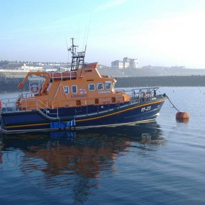 Katie Hannan. Portrush Lifeboat, County Antrim. February 06