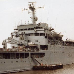 RFA Sir Percivale, London 1991