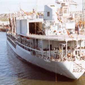 RFA Olwen, Devonport, early 1990s