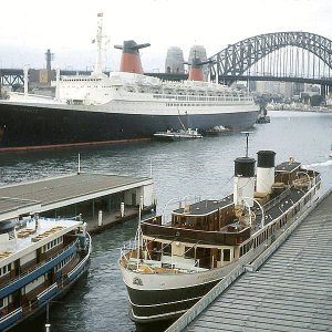 SS France in Sydney