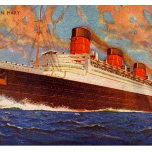 R.M.S.QUEEN MARY.