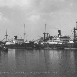 Three KJCPL ships in Tadjong Priok