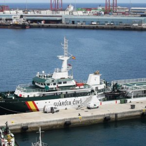 Police Ocean Patrol Vessel of the Guardia Civil, Spain