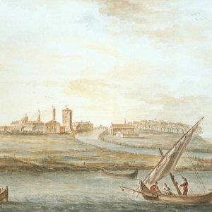 Adriatic Harbours in paintings of 1700