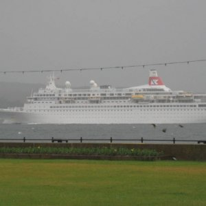 Boudicca on the Clyde Largs June 2010