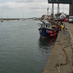 Moored at Wells