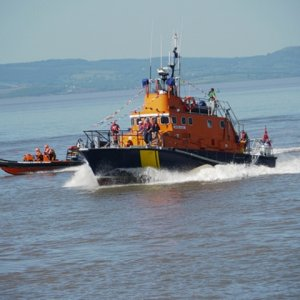 Mabel Alice and Potishead Lifeboat