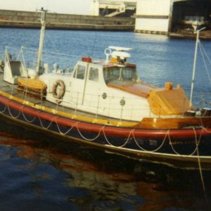 Buckie lifeboat 1971