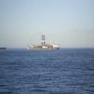 Unknown Drilling ship