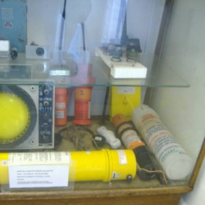 a display cabinet in memory room fort perch rock
