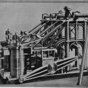 PADDLE-WHEEL SHIPS ENGINE.