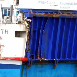 St Faith - damage following berth collision