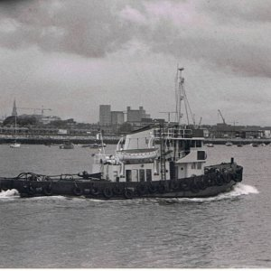 Unknown Tug Dublin