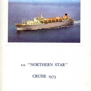 NORTHERN STAR MENU COVER