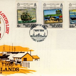 More ships on stamps