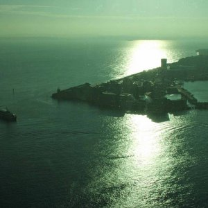 Portsmouth Harbour entrance from the Spinnaker Tower