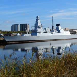 Latest Type 45 Destroyer