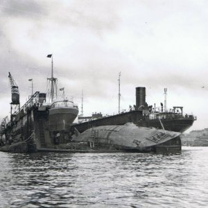 U 3503 salvaged in 1946