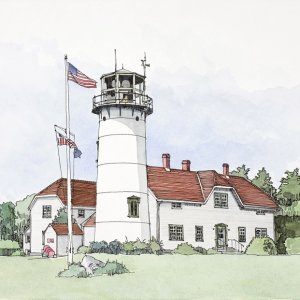 Chatham Light, Cape Cod, Mass. USA