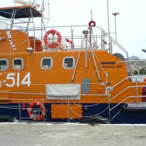 Hellenic Coast Guard SAR vessel 514, close up of deck housing.