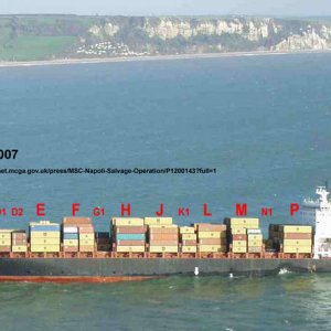 P12 - MSC Napoli - Lyme Bay - 25 Jan 2007