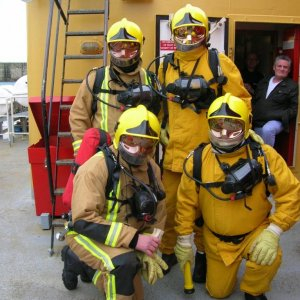 SALMOOR'S FIRE FIGHTING TEAMS