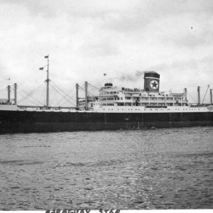 PARAGUAY  STAR    - Blue Star Line