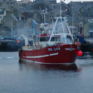 "Amity "" PD177 in lerwick"