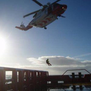 Coastguard exercise