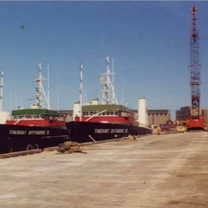 THERIOT OFFHORE SUPPLY SHIPS
