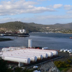 Self's Point terminal, Hobart