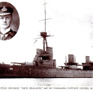 The Battle Cruiser 'New Zealand'