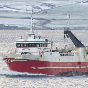 Russa Taign arriving in Kirkwall today