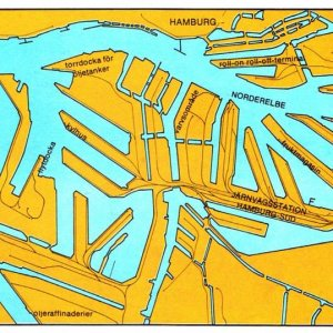 Hamburg map.