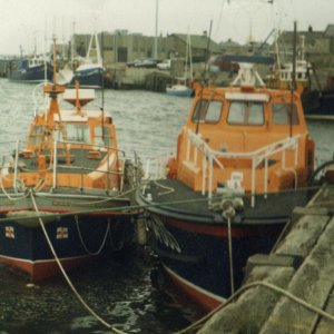 Ex Amble Lifeboats