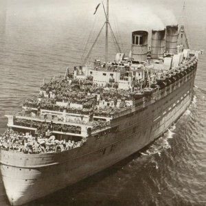 Queen Mary June 20, 1945