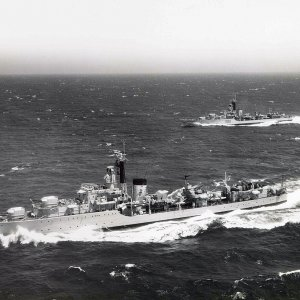 4th Destroyer Squadron 1956