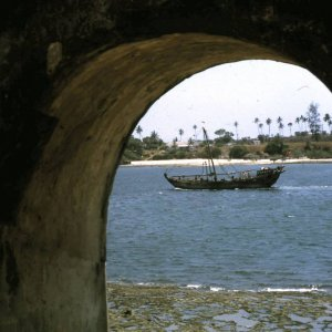 Dhow at Mombasa