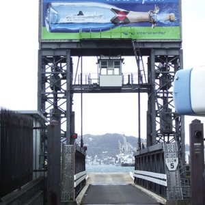 First Linkspan in New Zealand
