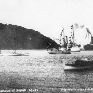 Ship's Cove, Queen Charlotte Sound, NZ