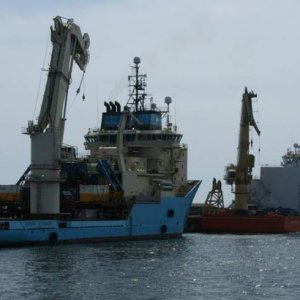 Maersk Attender and Normand Subsea