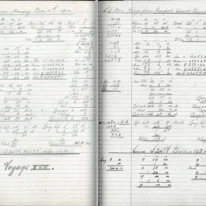 Pages from 2nd Mate's Log, 1911