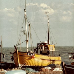 Hastings. fishing boat