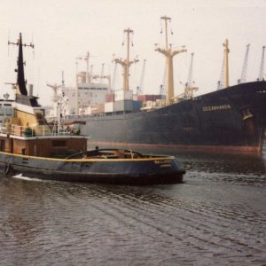 TUG WALLASEY AND OCEANHAVEN