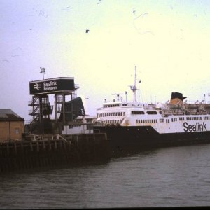 SEA Link ferry at Newhaven,