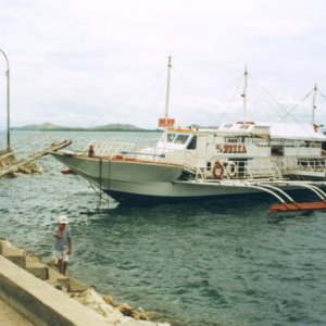 BOHOL FERRY. Philippines